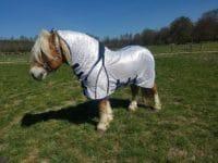 Flugtäcke grova hästar