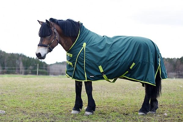 Regntäcke / fleecetäcke quick-dry grönt, 1200, sida